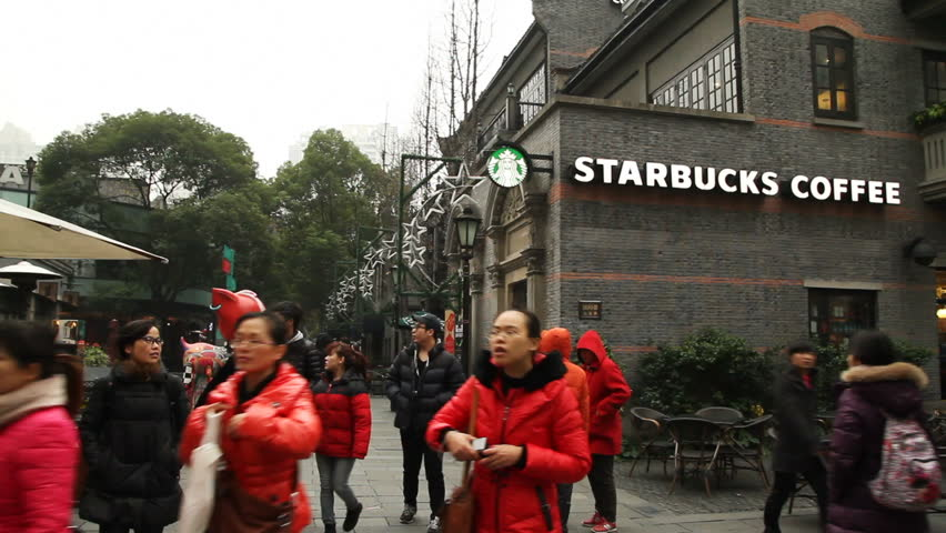 SHANGHAI - DECEMBER 21: Scenes of Shanghai Xintiandi, Xintiandi located in the