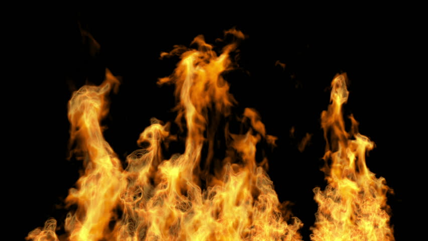 abstract burning fire video, high definition 3d render, HD 1920x1080, Alpha channel is included