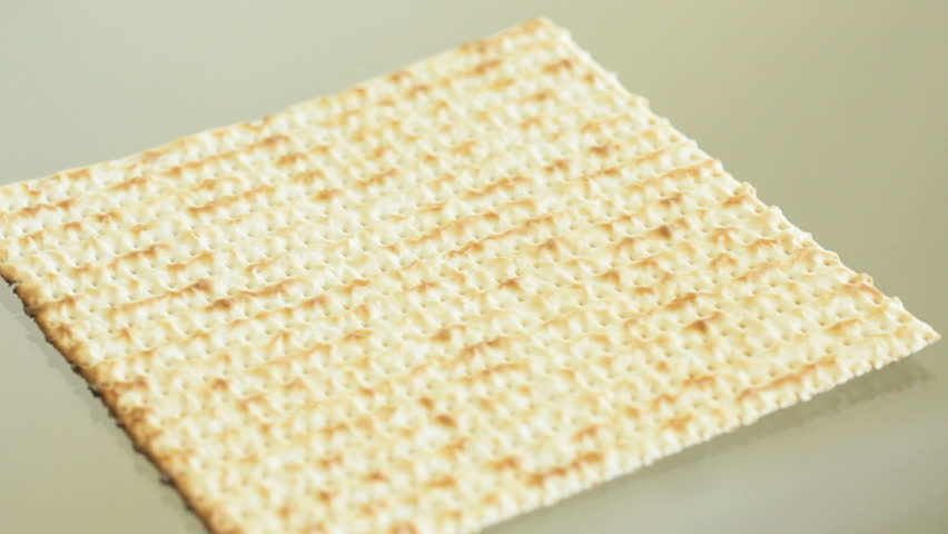 Header of matzah