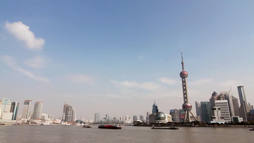Shanghai skyline- Shanghai, China.
