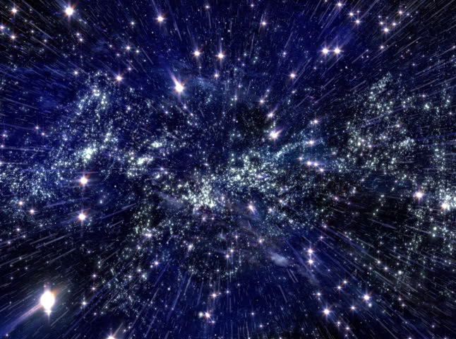 Galaxy Of Moving Stars In Space Stock Footage Video 373261 ...