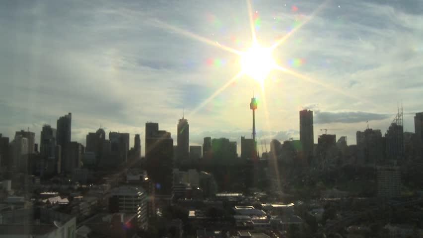 A New Day, Sunrise over Sydney, Cityscape Time Lapse #3840038