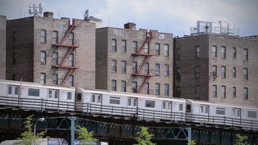 Subway in City | Shutterstock HD Video #3910976