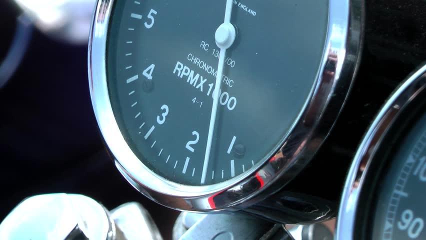 Motorcycle - Chronometric Rev Counter