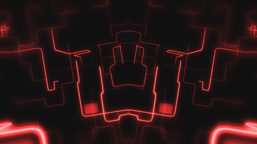 Abstract Neon Network Background
