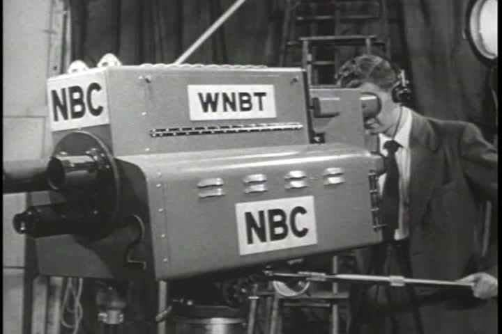 1950s - NBC Television, a pioneer in early television broadcasting