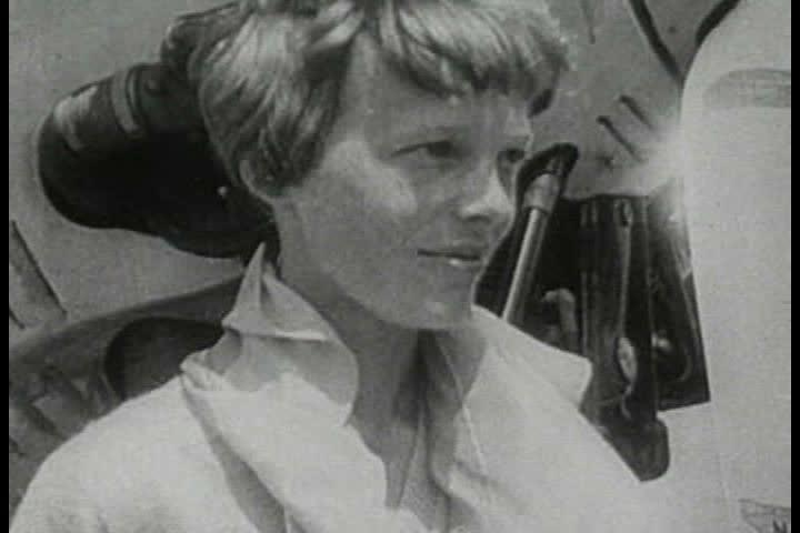 Header of Amelia Earhart