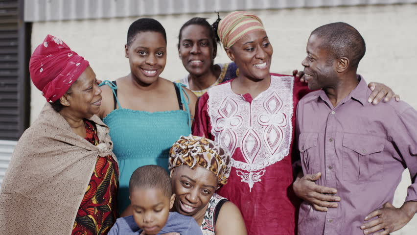 an overview of the traditional african extended family structure Fewer than half of us kids today live in a 'traditional' family rapid changes in american family structure have altered the image of who's gathering for.