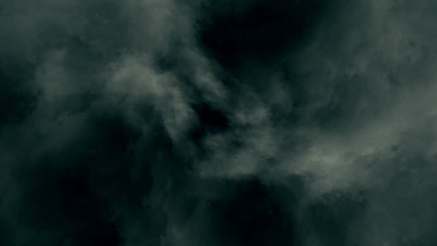 Thick Cloud  Flying Through Clouds Animation