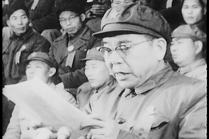 mao zedong paper 1 ib Ib history notes home communist to mao, the paper tigers or reactionaries, although they might look more powerful 1 november prc formed.