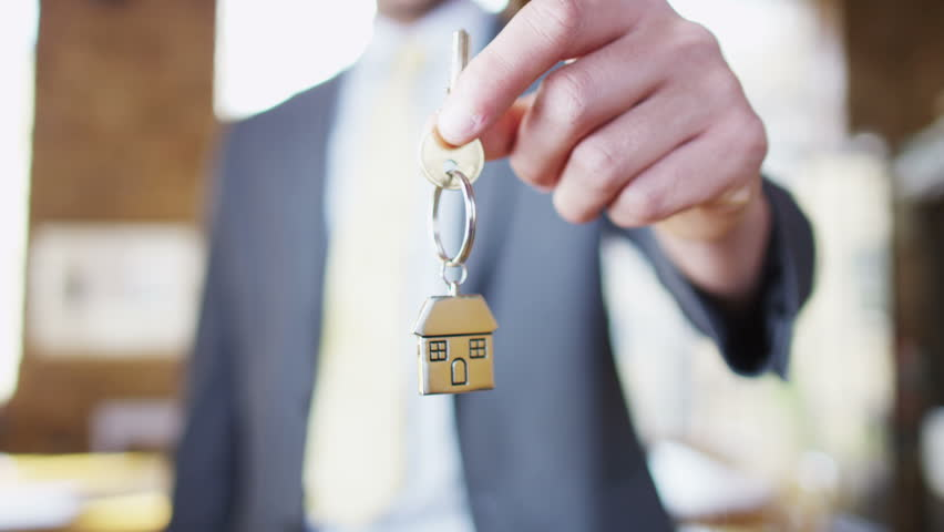 Key to a new home! | Shutterstock HD Video #4395479
