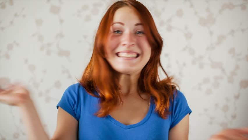 Webcam Girl Talking