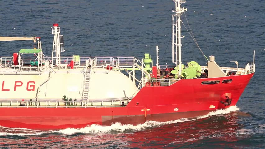 Tanker Ship. A ship designed for liquefied petroleum gas (LPG) transportation.