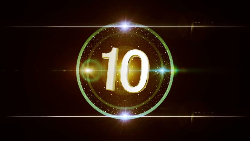 amazing 3d countdown (10-1)