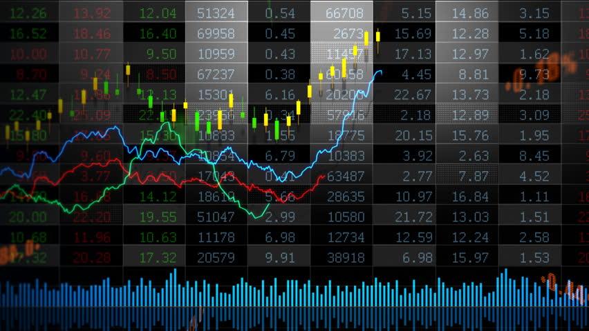 Stock market trend of animation. | Shutterstock HD Video #4556579