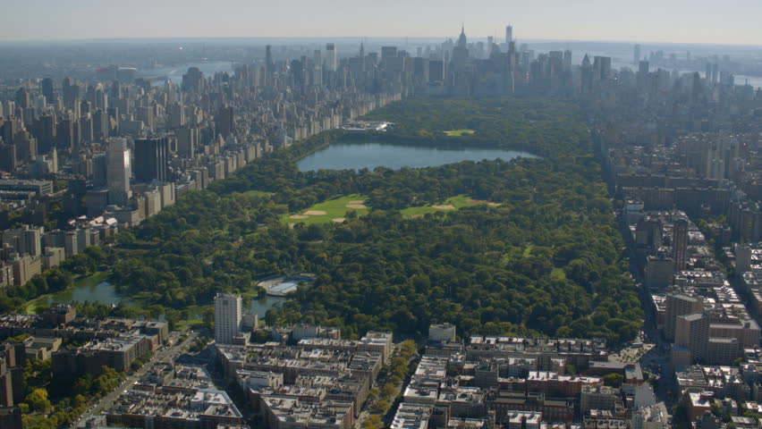 Aerial shot of Central Park, New York City | Shutterstock HD Video #4580060