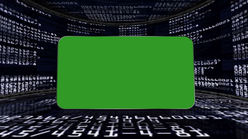 Numbers Code and Green Screen Monitor, in Room | Shutterstock HD Video #4699298