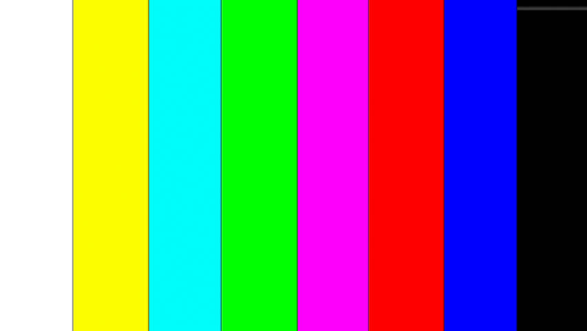 color bars 1080p or 1080i