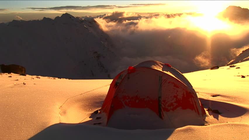Header of tent