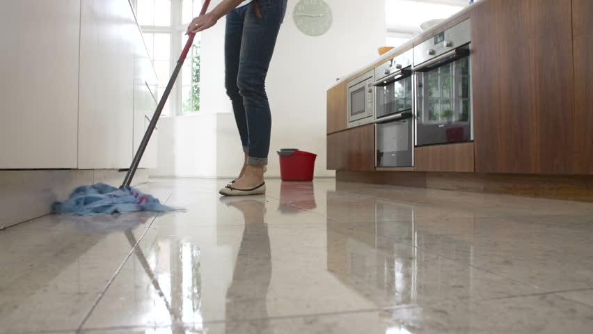 How To Mop Kitchen Floor