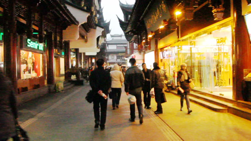 SHANGHAI - DECEMBER 21: City God Temple of Shanghai, The City God Temple located
