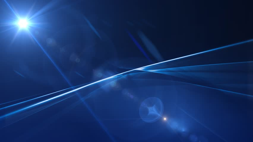 News Style Background - Blue Abstract Motion...