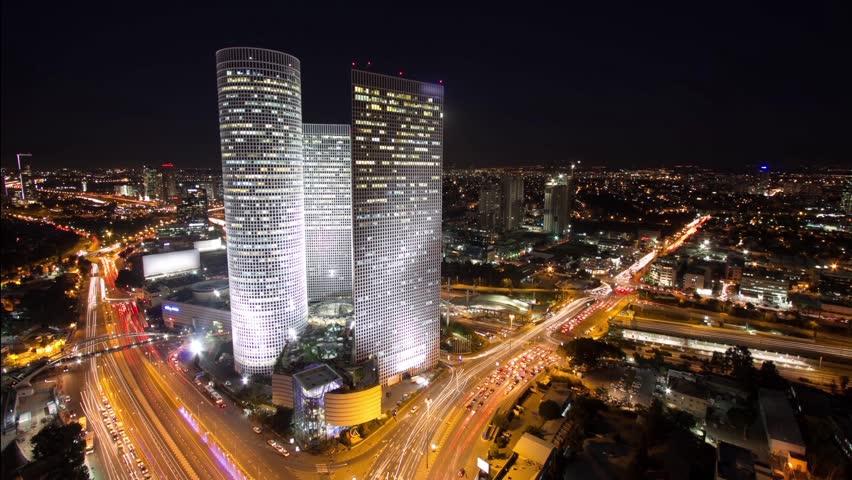 Tel Aviv Hd: Tel Aviv Stock Footage Video