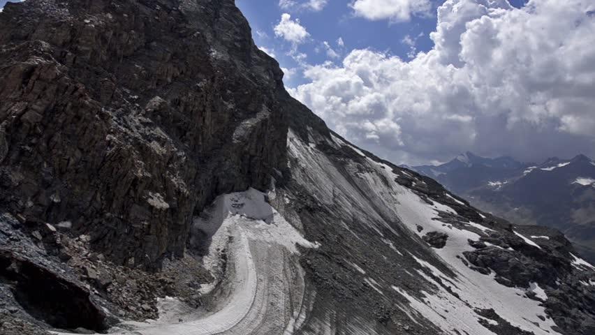 Header of Alpine Glacier