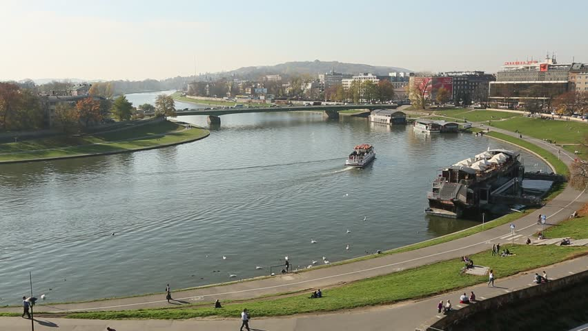 Vistula River Stock Footage Video - Shutterstock