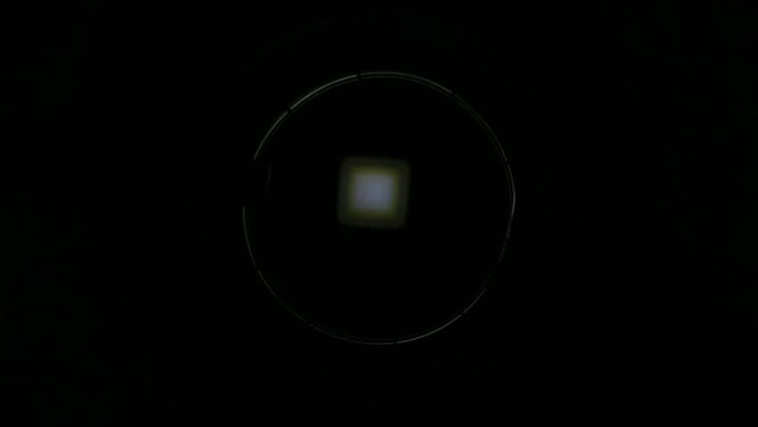 Strobe flashing light goes on and off with different beat, loopable | Shutterstock HD Video #5081993