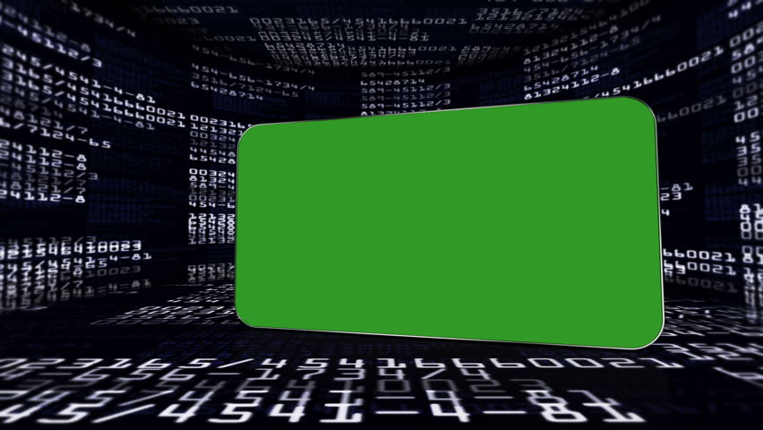 Numbers in Monitors and Green Screen Monitor, with Alpha Channel | Shutterstock HD Video #5107763