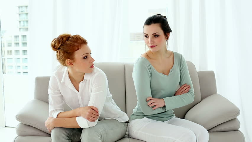 Image result for woman advicing woman on a couch