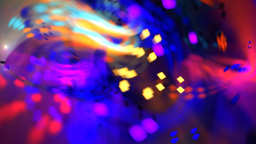 Abstract bold multicolored chaotic particle texture motion background seamless looping fractal   Shutterstock HD Video #5134664