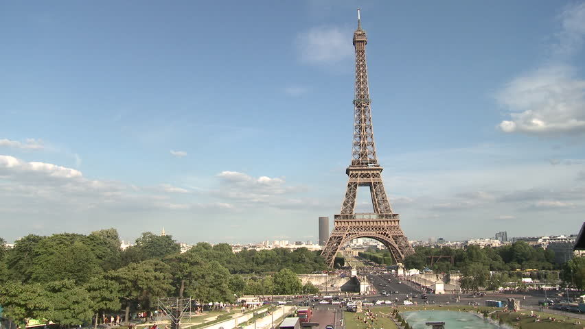 PARIS, FRANCE - 2010: Eiffel Tower | Shutterstock HD Video #5135714