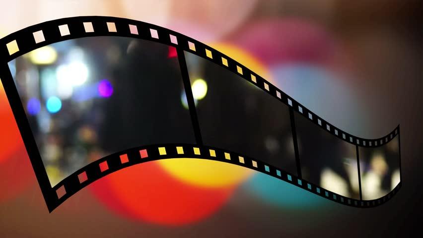 Film Reel Background Stock Footage Video 1581352 ...