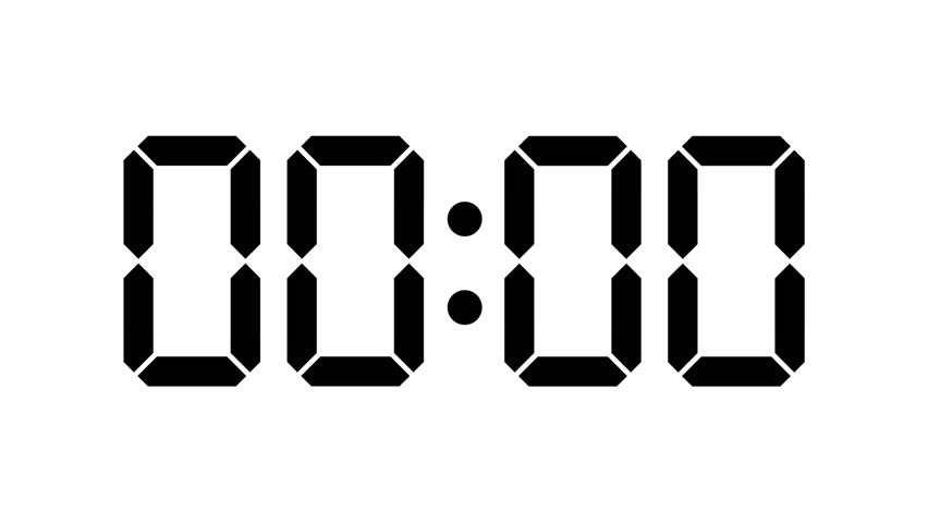 countdown clock stock footage video