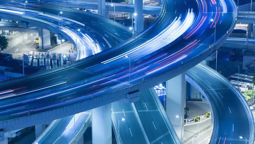 Traffic >> Fast paced Footage | Stock Clips