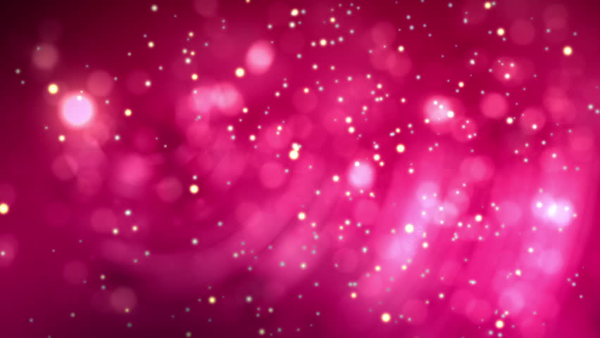 Abstract 20 Seconds Looping Animation Of Deep Pink