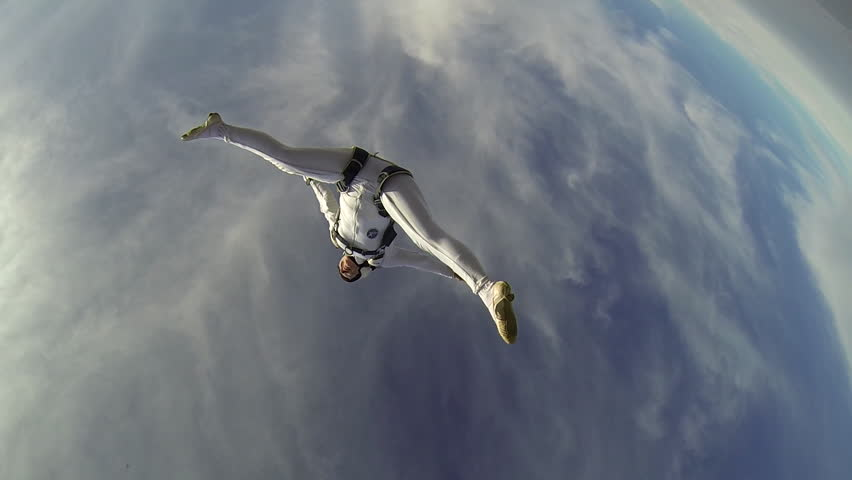 Skydiver freestyle woman   Shutterstock HD Video #5436035