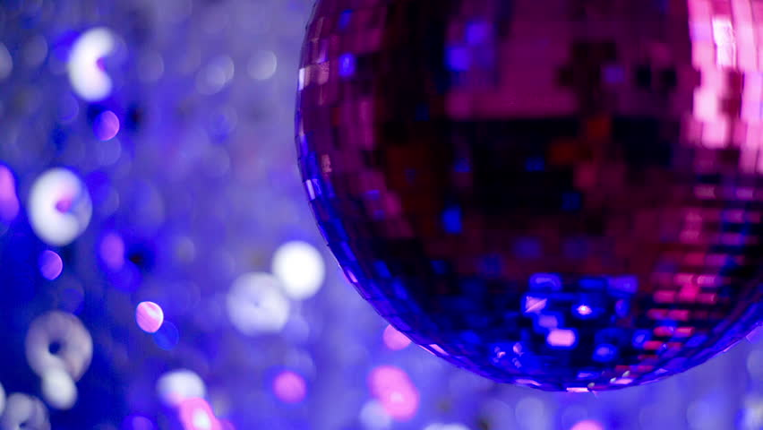 Funky pink mirror ball spinning with patterns of light. useful for vj loops, events, clubs and parties    Shutterstock HD Video #5502944