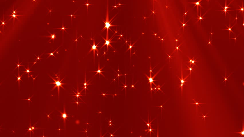 Falling Red Star Animation Loop Stock Footage Video 4331033 ...