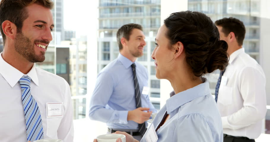 Business people speaking at conference in the office | Shutterstock HD Video #5658632
