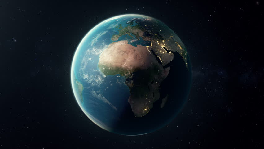 A seamless looping earth. A matte is added in last 25 frames so the animation can be placed over your own background.  Check out a 4k still here: http://www.lucidpixel.nl/img/Stills/EarthLoop_4K.jpg