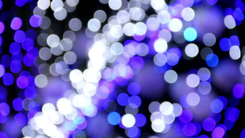 Bokeh Light-Out of focus fairy lights | Shutterstock HD Video #5829890