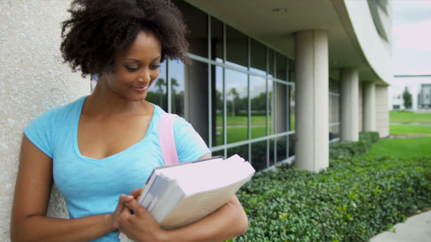 Close Up African American Female Teenager Holding Wireless Tablet ...