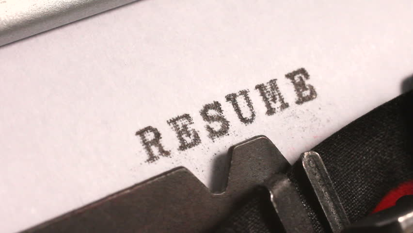 Resume Background Stock Footage Video - Shutterstock