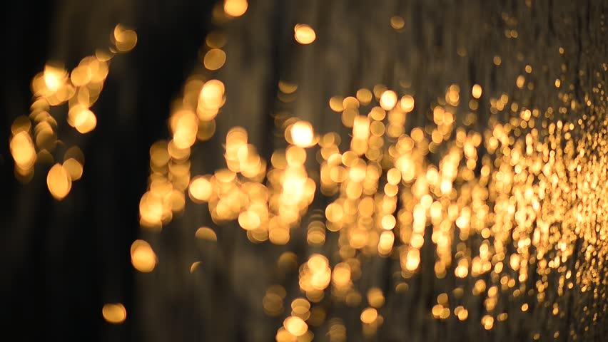 Light shining on the lake | Shutterstock HD Video #6035264