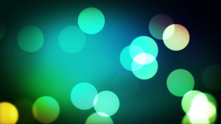 A Nice Seamless Animation Of Particles On Vibrant Color Background ...