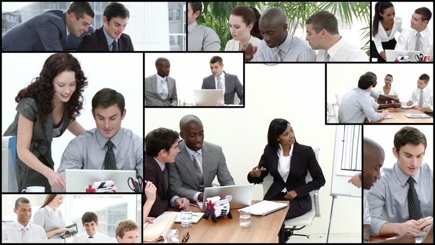 Team brainstorming in High definition video format   | Shutterstock HD Video #612031
