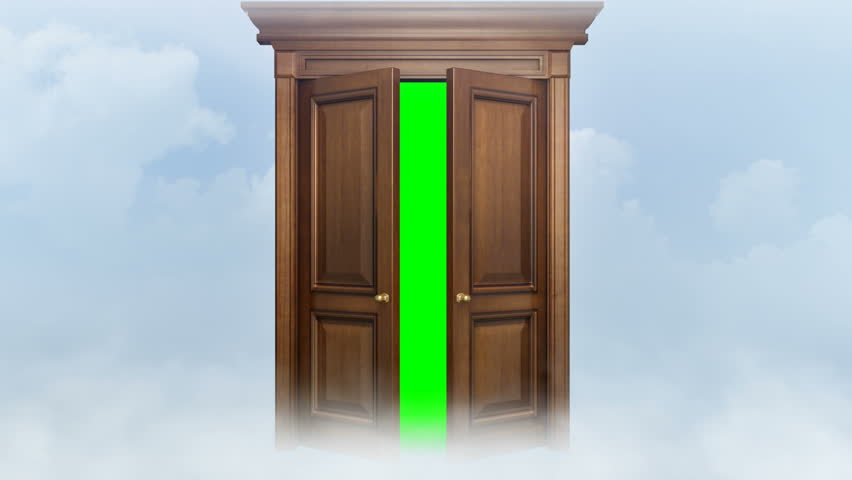 Door opening with chroma key. Two animations + chroma key and trackers. Door for & Weather Change After Walking Through Magic Doors. 4k Stock Footage ... Pezcame.Com